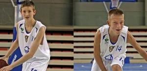 młodzi kadrowicze koszykarze