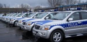 policyjne pojazdy